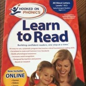 Hooked on Phonics Levels 1-2 (ages 3-4)